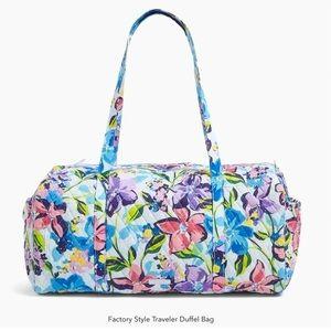 NWOT Vera Bradley Large Duffel Bag Marian Floral
